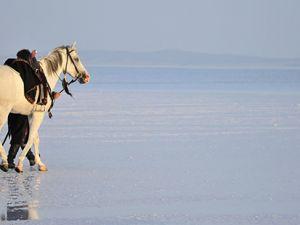"""""""Diriliş""""in fragmanı Tuz Gölü'nde çekildi"""