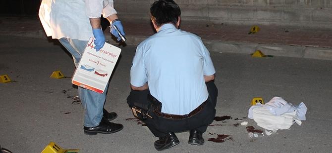 Sokak ortasında silahlı saldırı 2