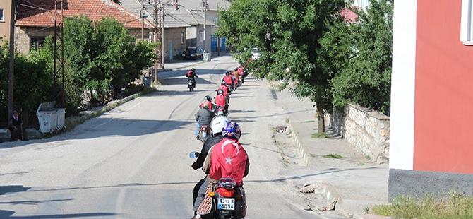 MOTOSİKLET TUTKUNLARININ KANYON GEZİSİ 2