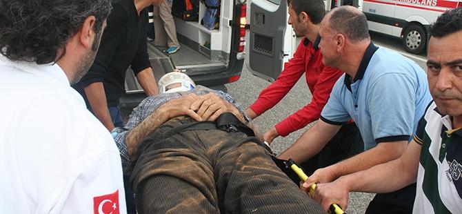 Konya'da trafik kazası: 7 yaralı 1