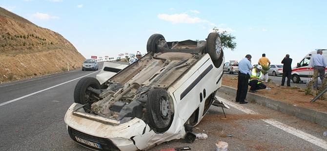 Konya'da trafik kazası: 7 yaralı 3