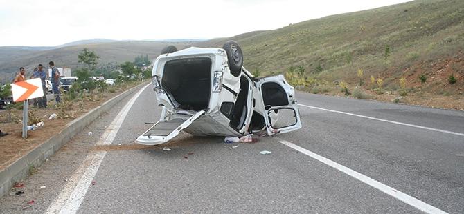 Konya'da trafik kazası: 7 yaralı 4