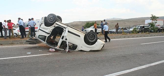 Konya'da trafik kazası: 7 yaralı 5
