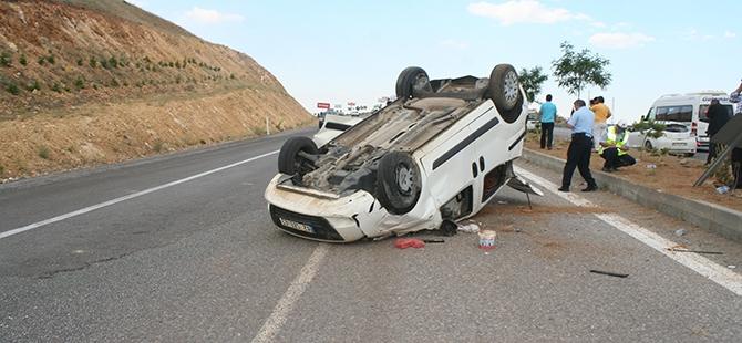 Konya'da trafik kazası: 7 yaralı 6