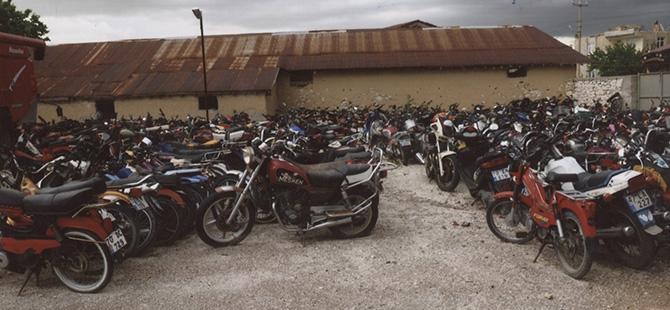 Motosikletlere kelepçe 1