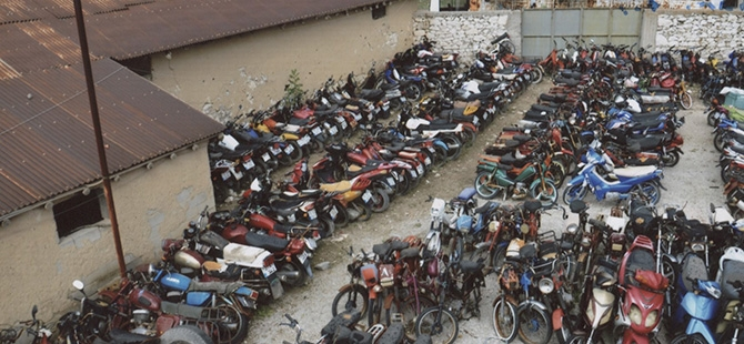 Motosikletlere kelepçe 4