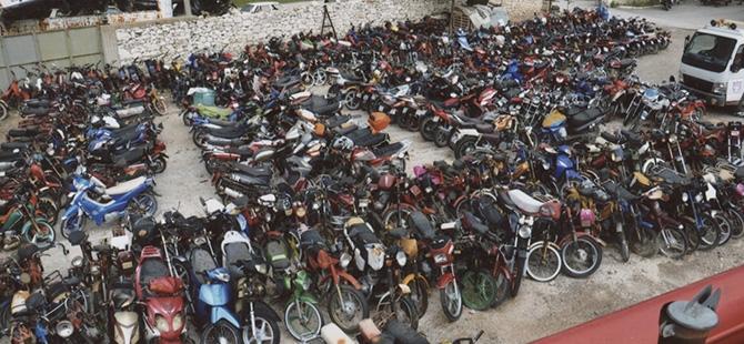 Motosikletlere kelepçe 5