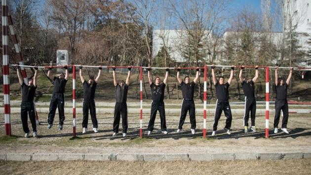 Onlar zorlu görevlerin uzman ekibi 35