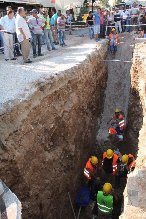 Kanalizasyon kazısında inanılmaz keşif 1