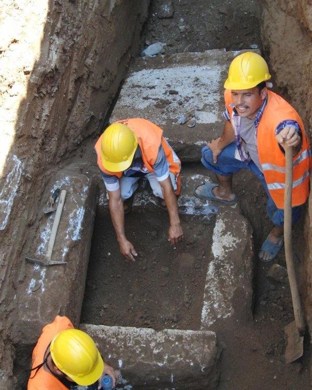 Kanalizasyon kazısında inanılmaz keşif 10