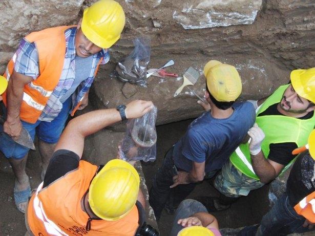Kanalizasyon kazısında inanılmaz keşif 12