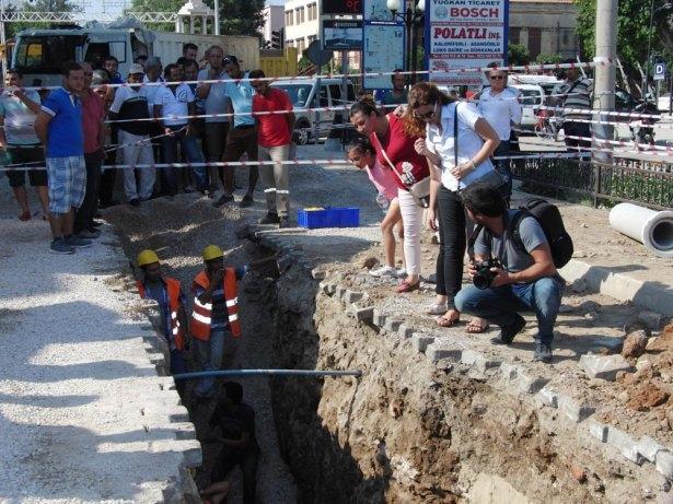 Kanalizasyon kazısında inanılmaz keşif 3
