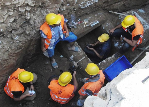 Kanalizasyon kazısında inanılmaz keşif 4