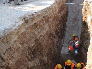 Kanalizasyon kazısında inanılmaz keşif