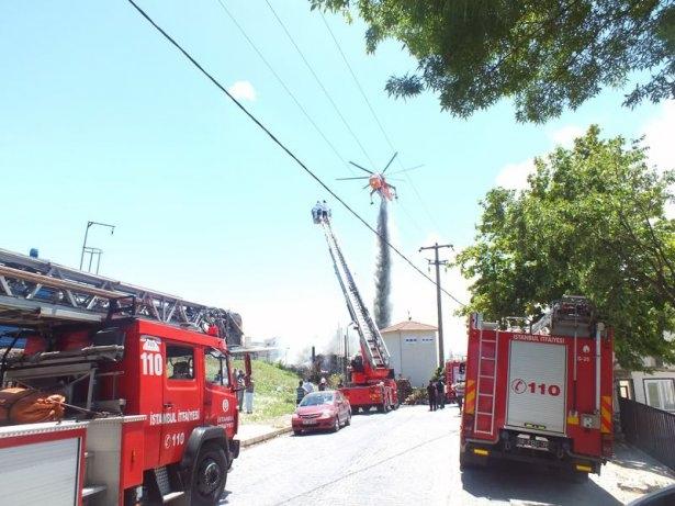 Hadımköy'de büyük yangın 1
