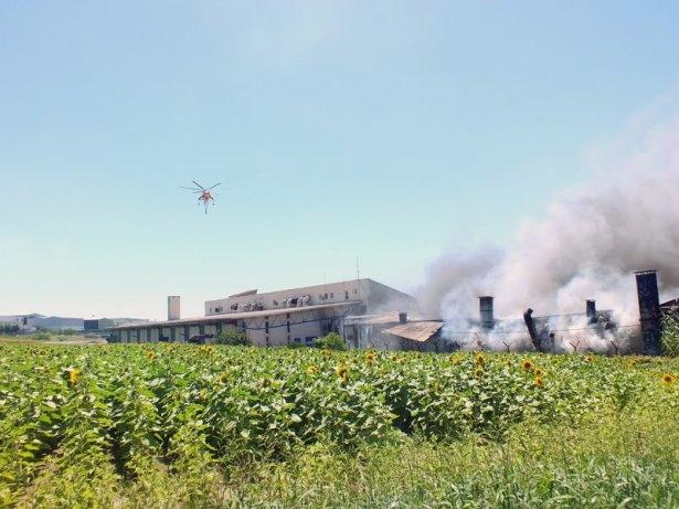 Hadımköy'de büyük yangın 12