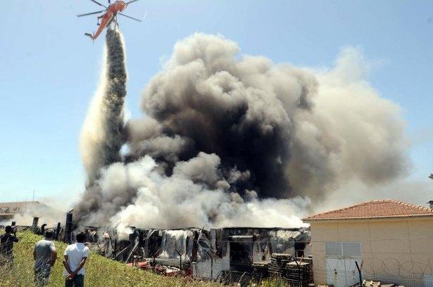 Hadımköy'de büyük yangın 2