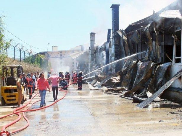 Hadımköy'de büyük yangın 3
