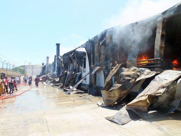 Hadımköy'de büyük yangın 4