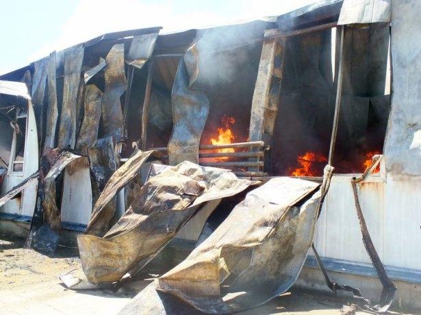 Hadımköy'de büyük yangın 6