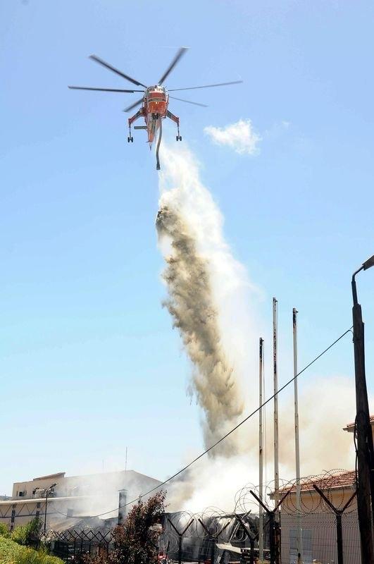 Hadımköy'de büyük yangın 7