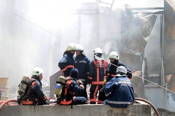 Hadımköy'de büyük yangın 8