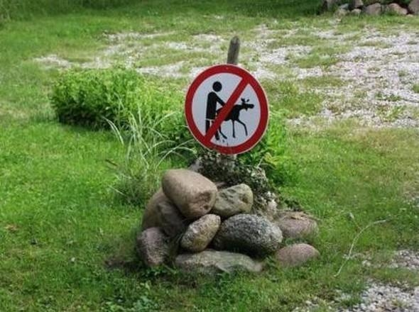 Dünyanın en saçma uyarı levhaları 12