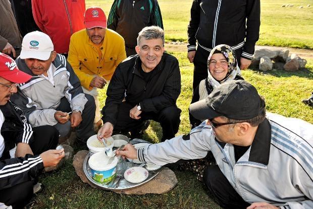 Fotoğraflarla Cumhurbaşkanı Gül'ün 7 yılı 12
