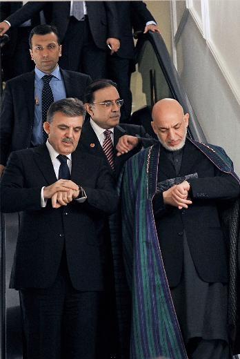 Fotoğraflarla Cumhurbaşkanı Gül'ün 7 yılı 15