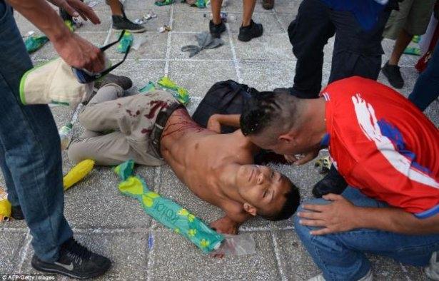 Brezilya'da şok! Ortalık kan gölüne döndü 4