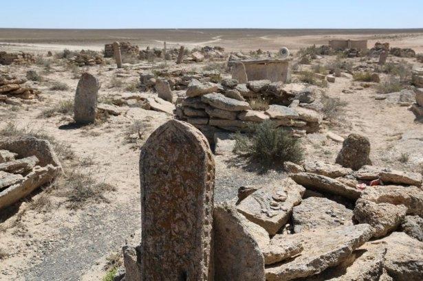 Kazakistan'ın yeraltı mescitleri 11