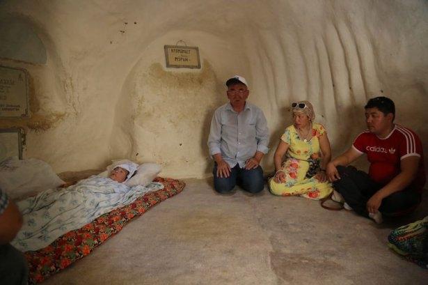 Kazakistan'ın yeraltı mescitleri 9