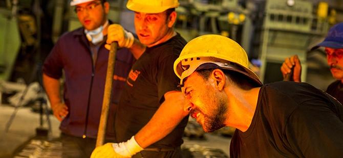 Döküm işçilerinin zor imtihanı 12