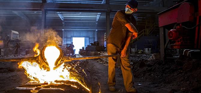Döküm işçilerinin zor imtihanı 15