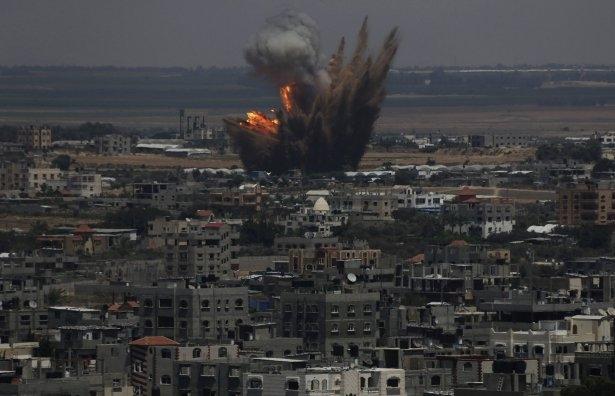 İftar vakti İsrail katliamı! 13