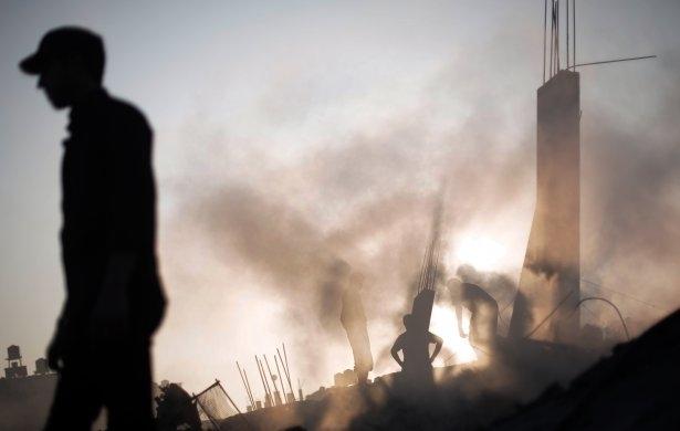 İftar vakti İsrail katliamı! 35