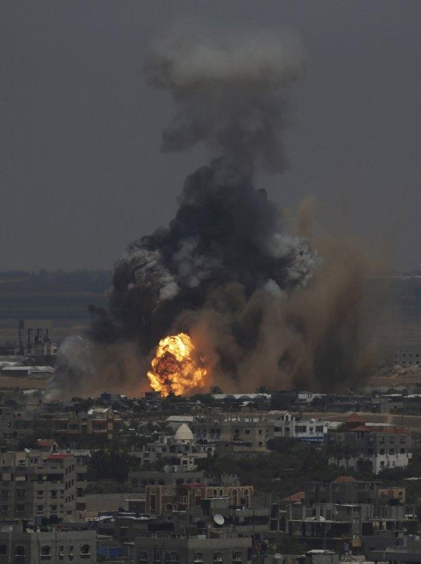 İftar vakti İsrail katliamı! 52