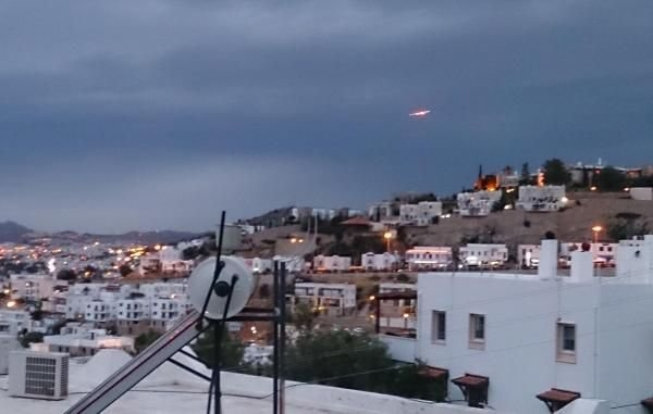 Bodrum'da UFO heyecanı 2