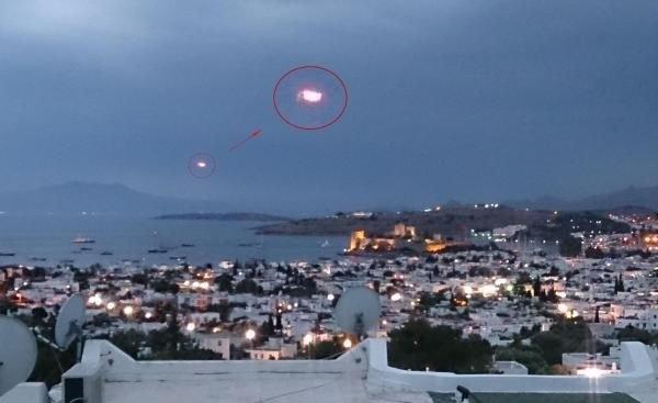 Bodrum'da UFO heyecanı 3