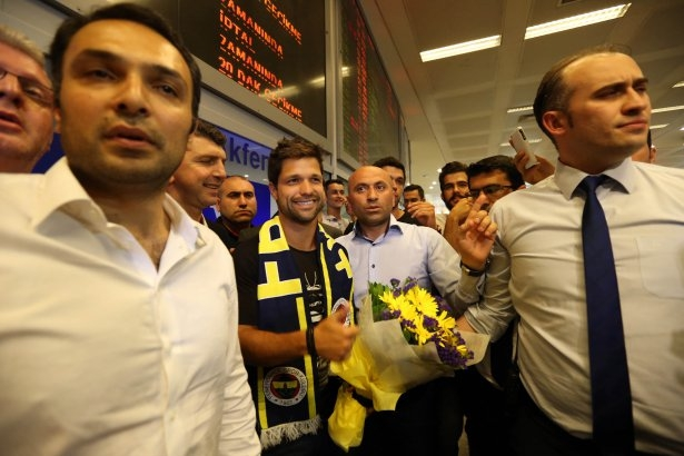 Diego Ribas İstanbul'da 24