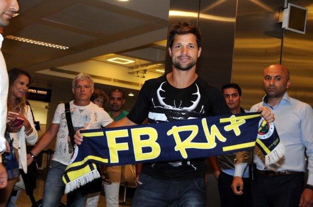 Diego Ribas İstanbul'da 4