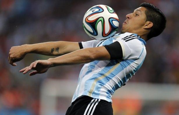 Hollanda-Arjantin maçı 14