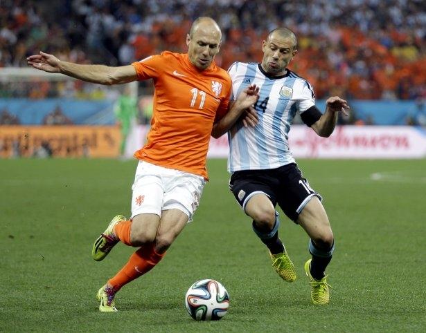 Hollanda-Arjantin maçı 15