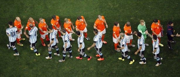Hollanda-Arjantin maçı 17