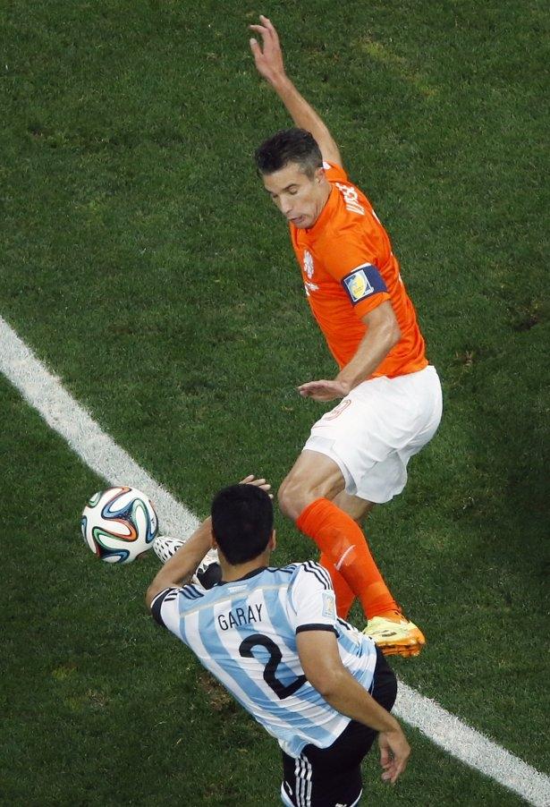 Hollanda-Arjantin maçı 18