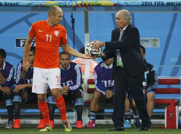 Hollanda-Arjantin maçı 21