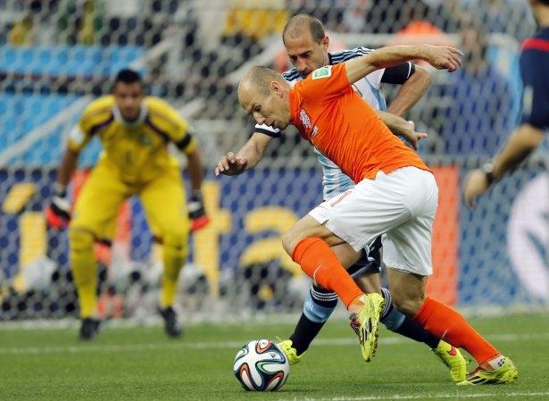 Hollanda-Arjantin maçı 24