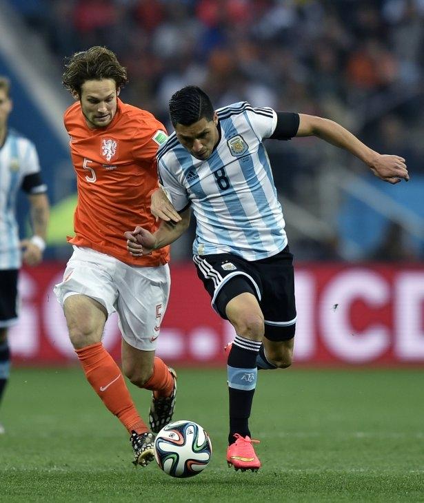 Hollanda-Arjantin maçı 26