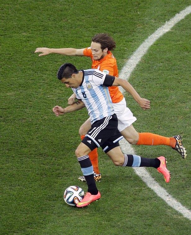 Hollanda-Arjantin maçı 27