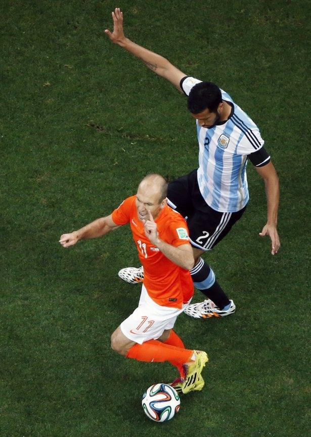 Hollanda-Arjantin maçı 28